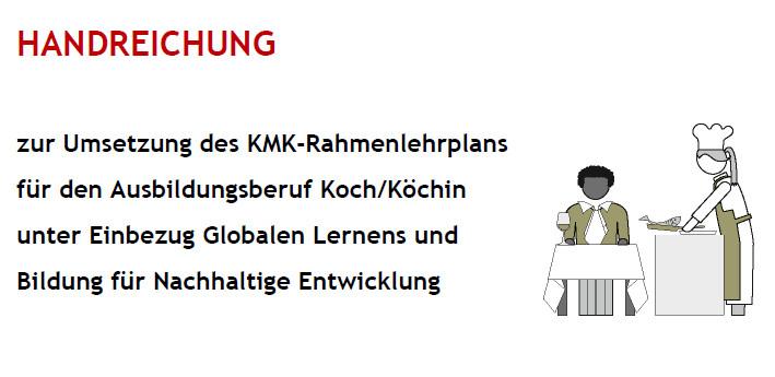 2011 Handreichung Kochen Umsetzung KMK-Richtlinie