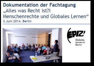 2014 Dokumentation Fachtag Alles was Recht ist 03.06.2014