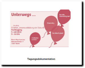 Cover der Tagungsdokumentation